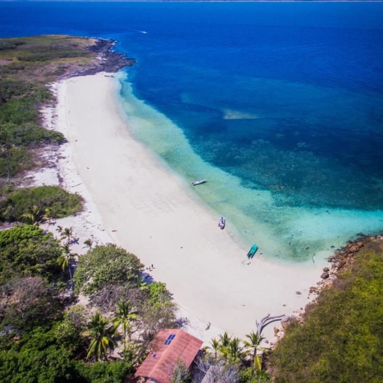 Iguana Island from above