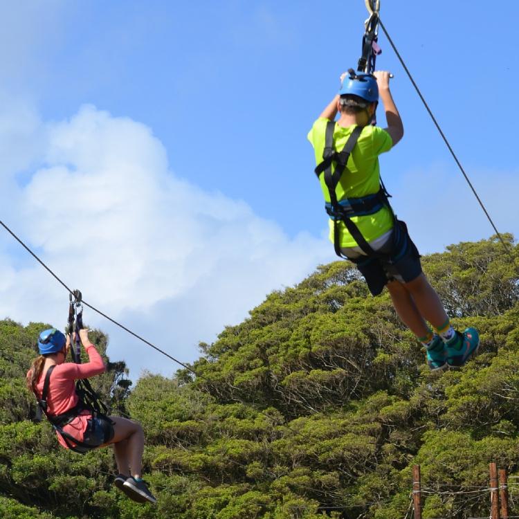 Zipline in Cañas